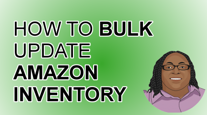 How To Bulk Update Amazon Inventory Seller Central