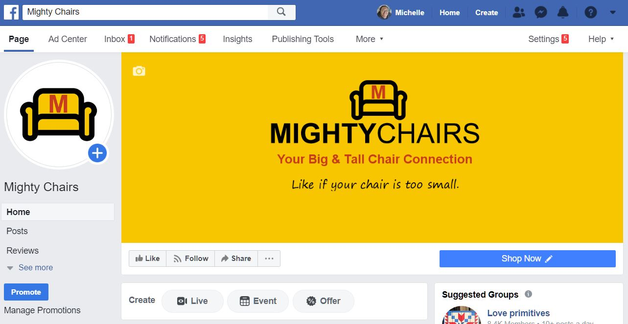 #Mighty Chairs
