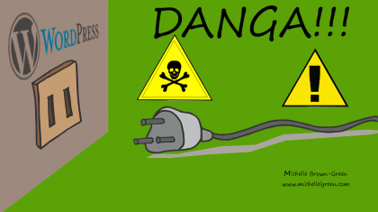 Wordpress Plugin Danger Sign